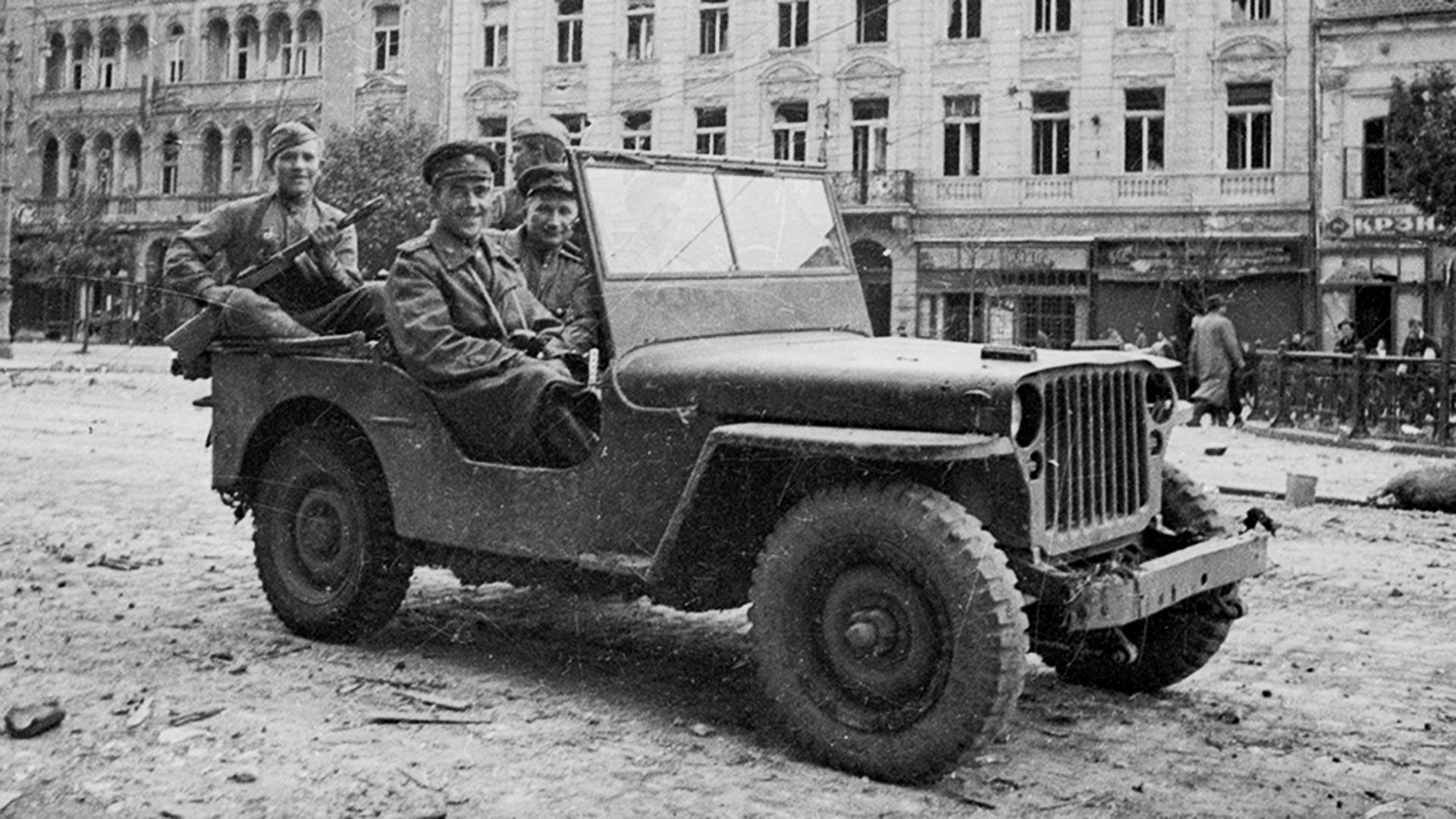 Generaloberst Wladimir Sudez in Belgrad
