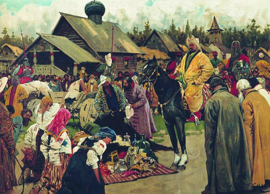Baskak oleh Sergey Ivanov