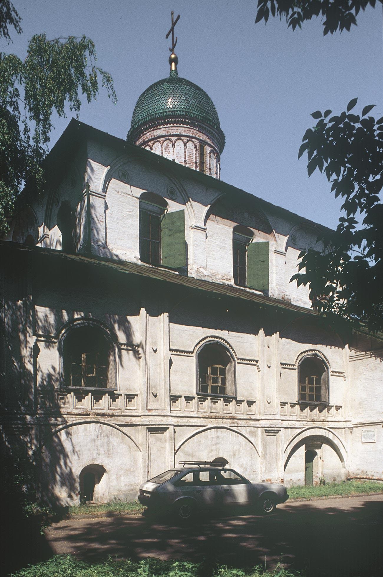 Church of St. Nicholas Nadein. South facade. July 28, 1998