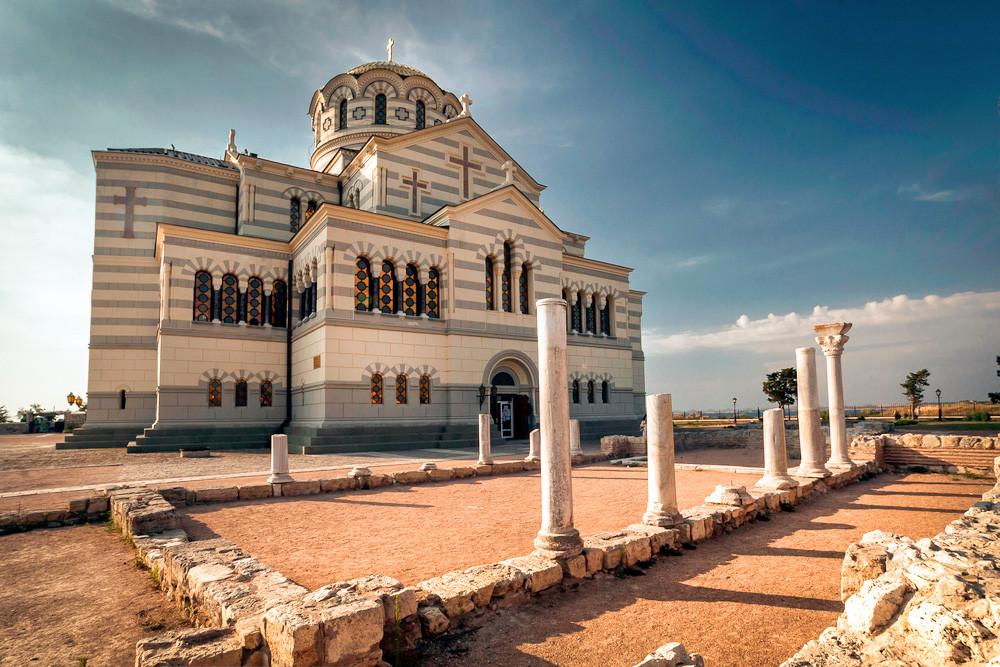 The Saint Vladimir Cathedral in Chersonesos