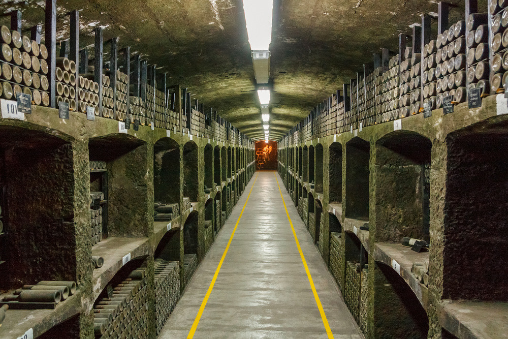 Massandra wine cellar