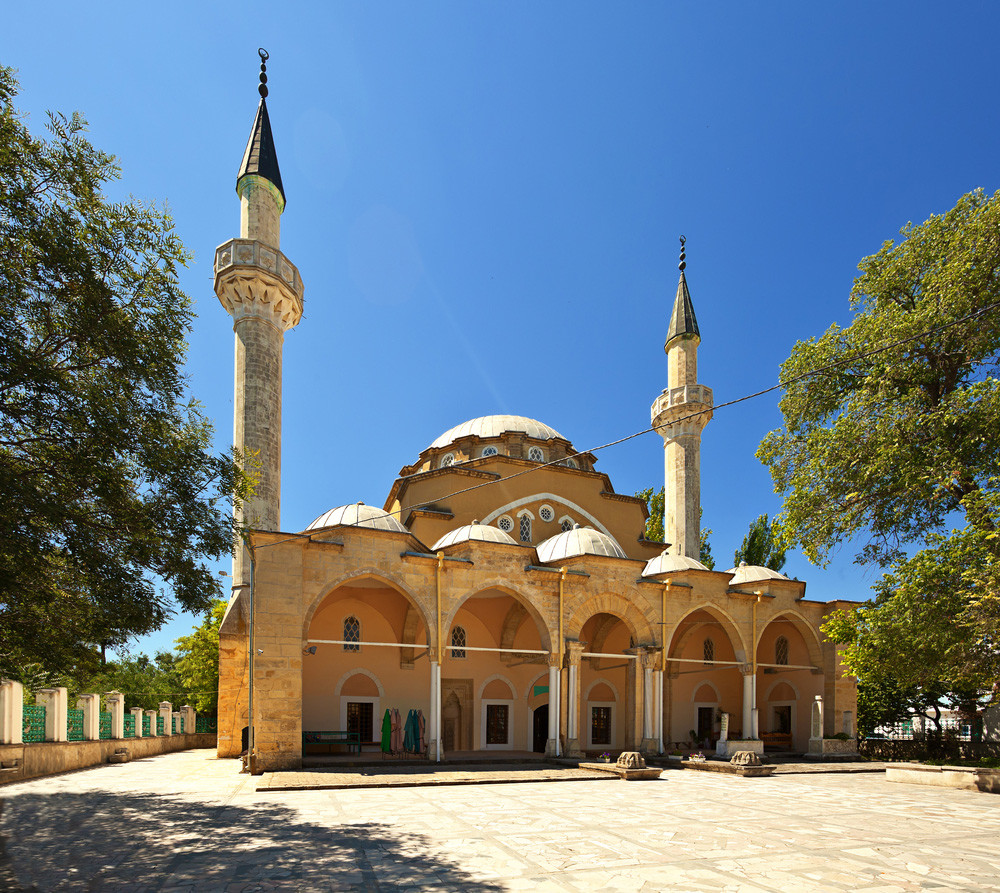 The Juma-Jami Mosque