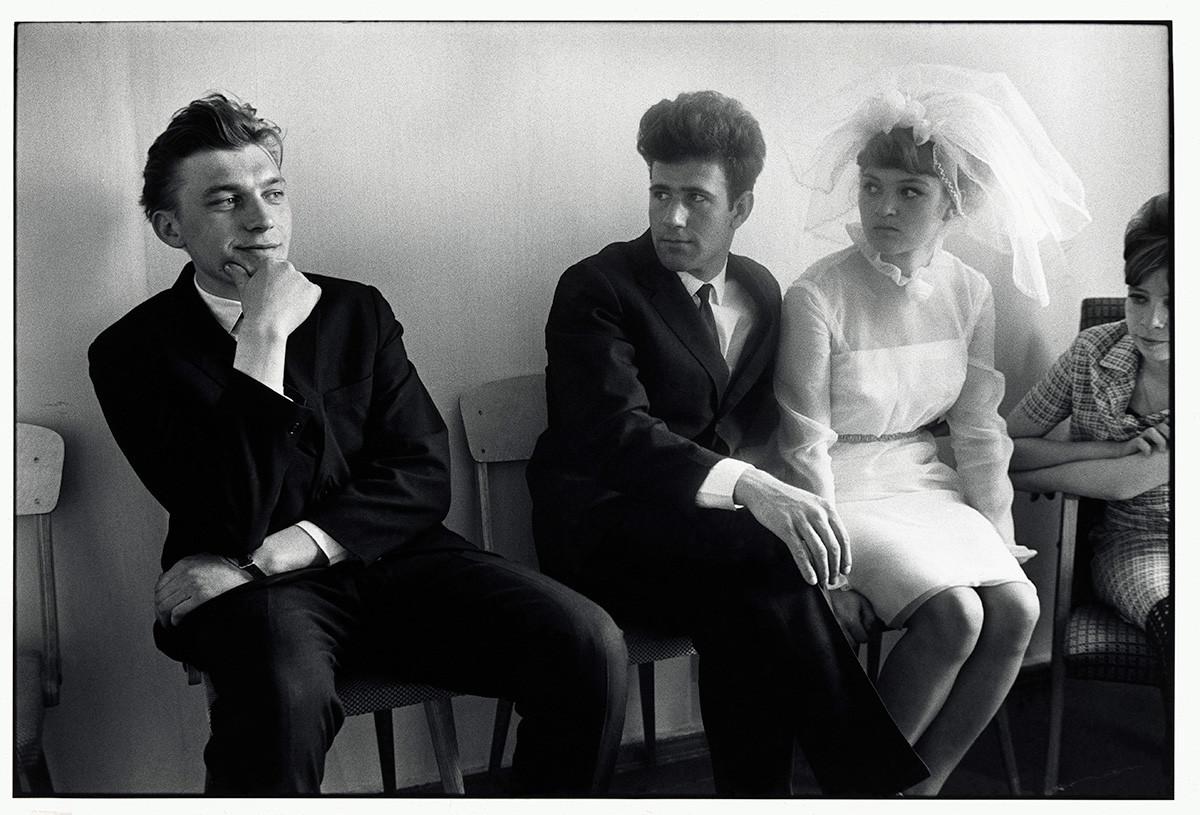 Eine Hochzeitsregistrierung, Bratsk/Sibirien, 1967