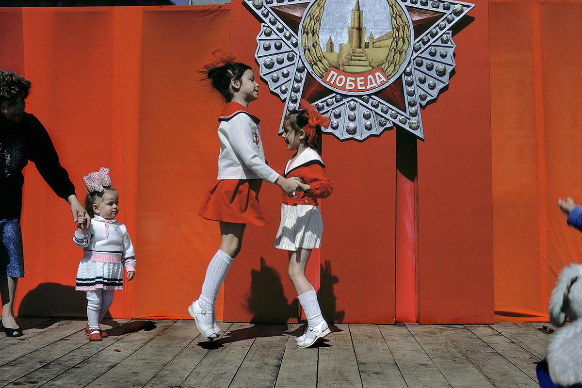 Feierlichkeiten zum Tag des Sieges in Moskau, 1989