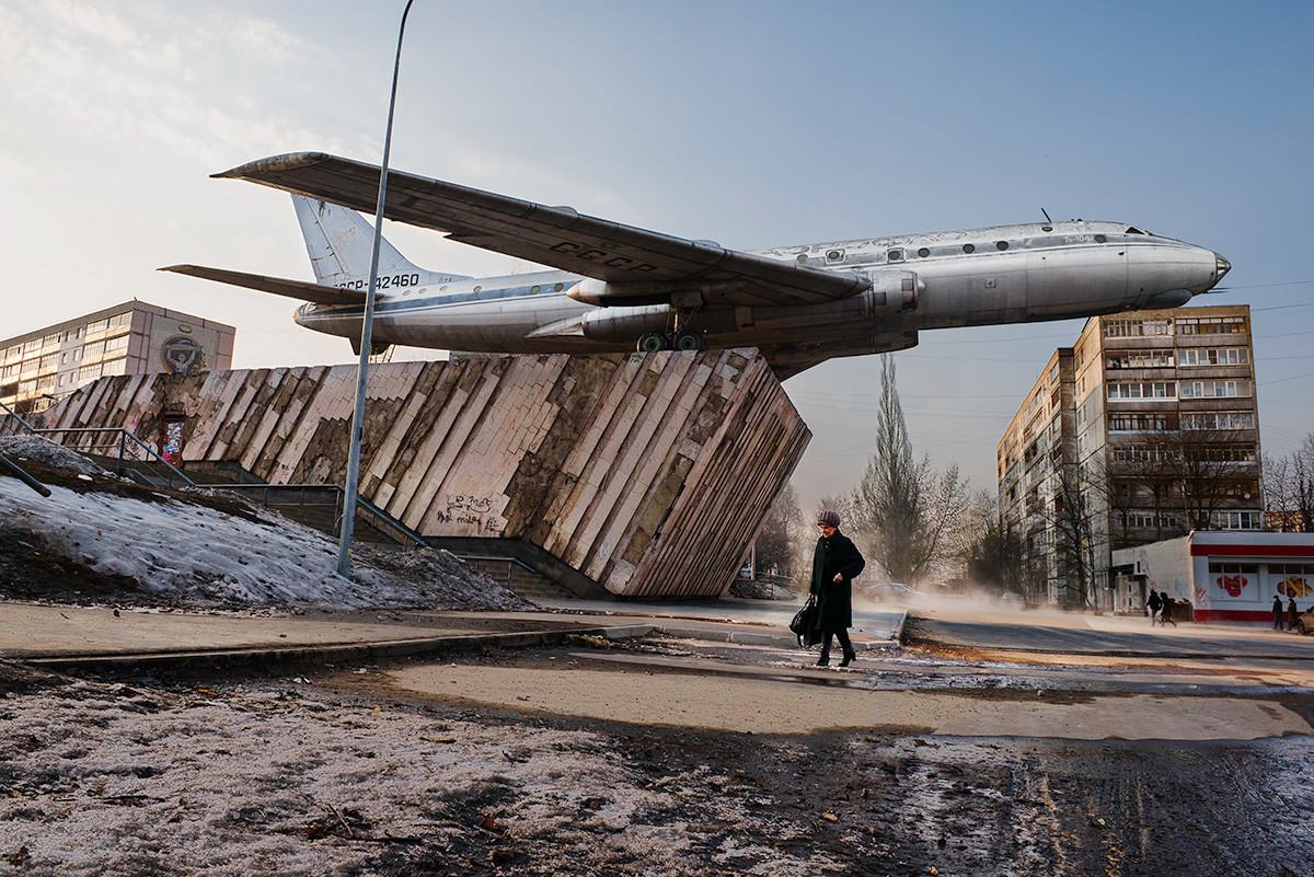 Die Stadt Rybinsk, Region Jaroslawl, März 2015