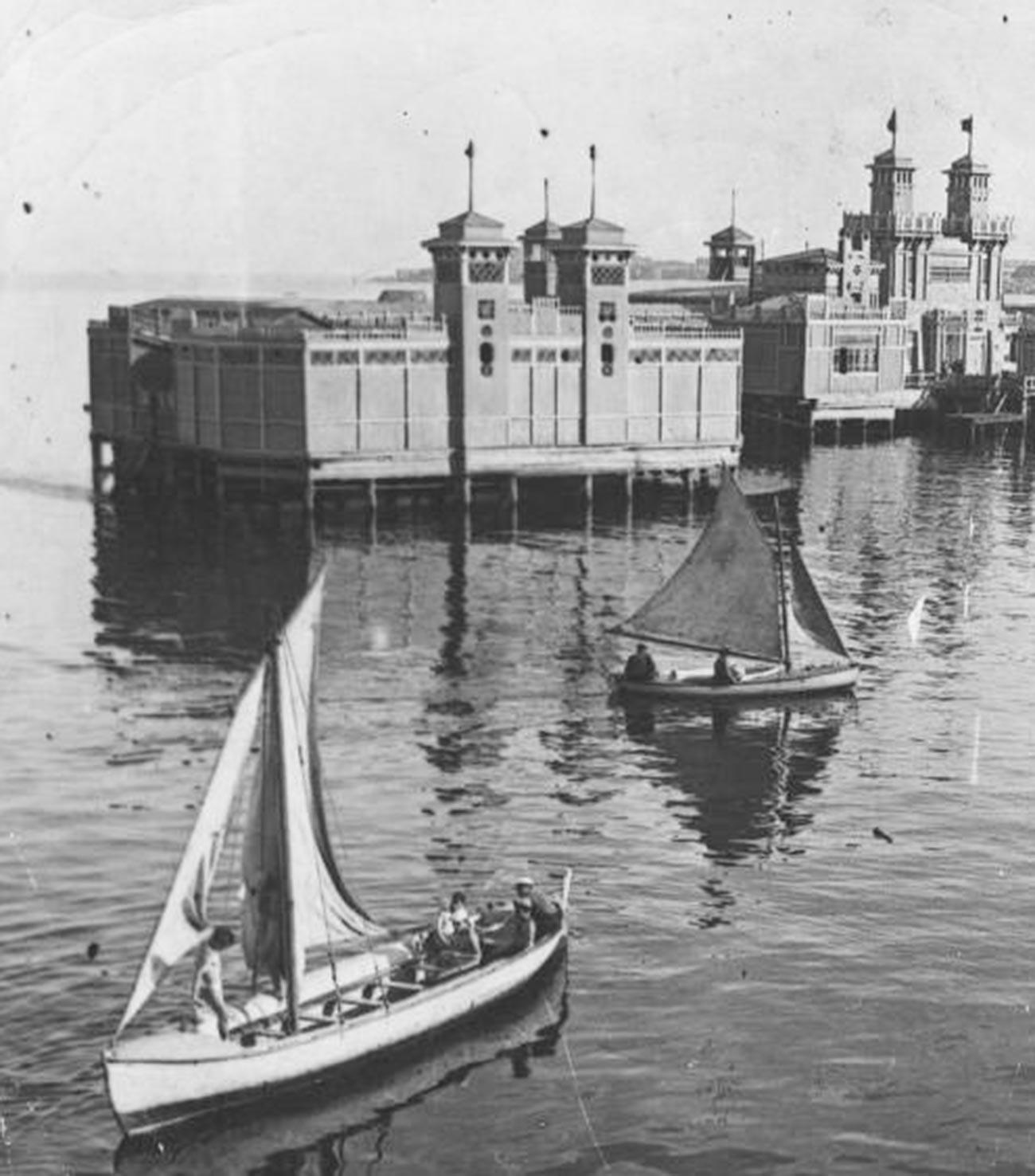 Bateaux à voile en 1935