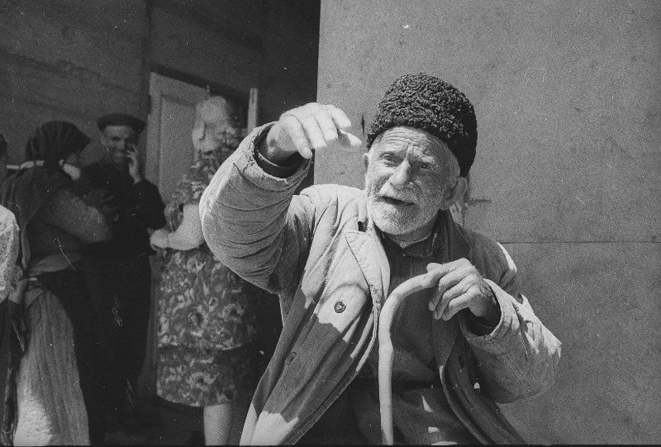Un vieillard arménien dans les années 60