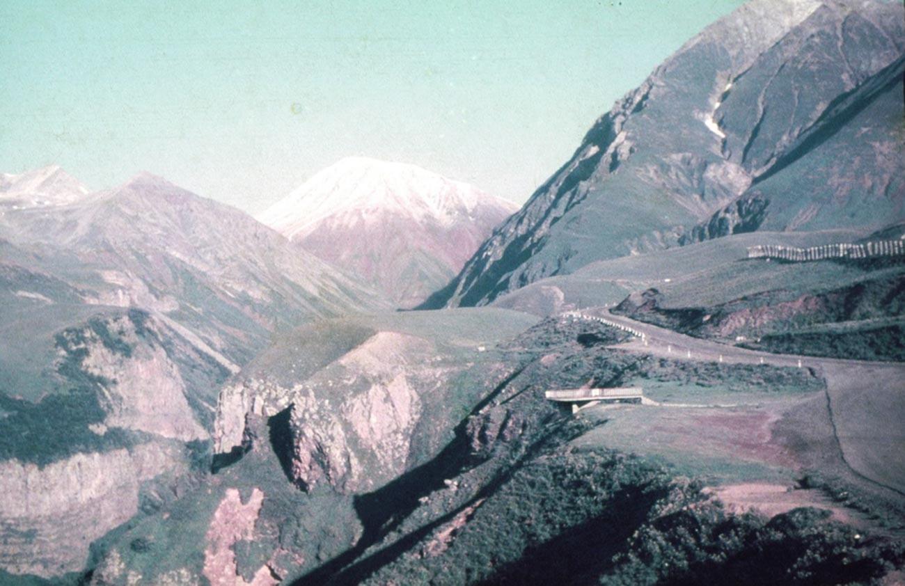 Un point d'observation dans les montagnes de Géorgie, 1988