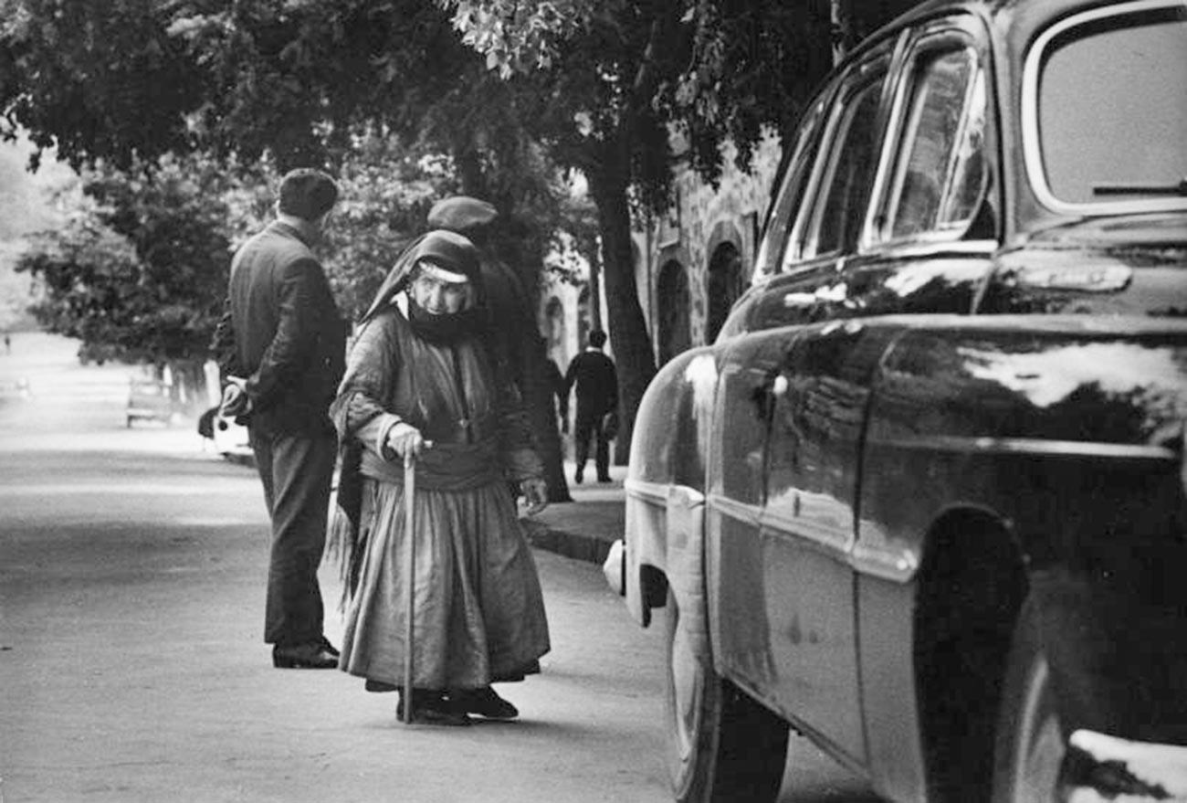 Une Arménienne dans les années 60