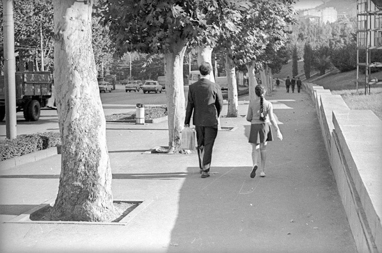 Rue de Tbilissi en 1971
