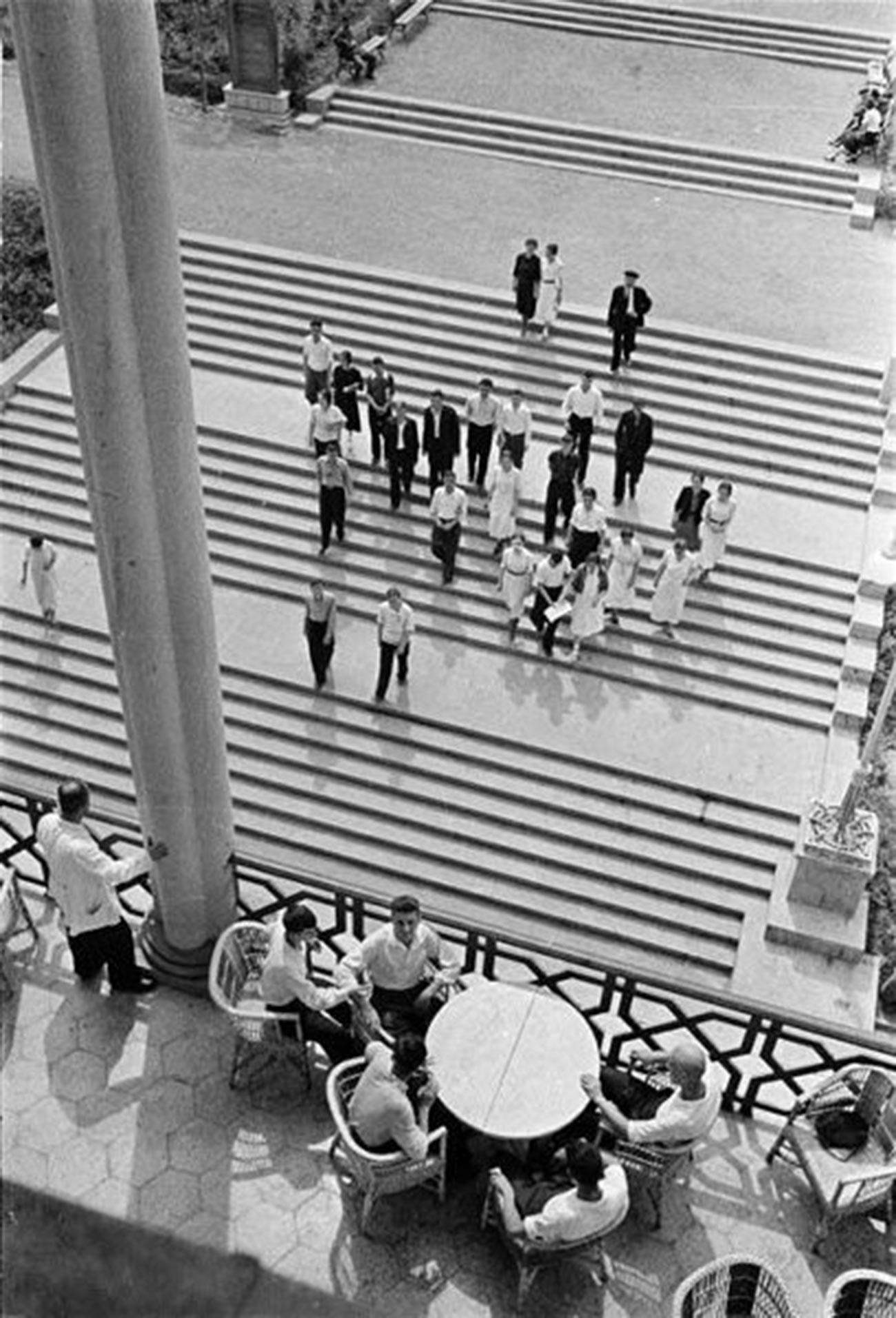 Repos à Tbilissi, Géorgie, 1939