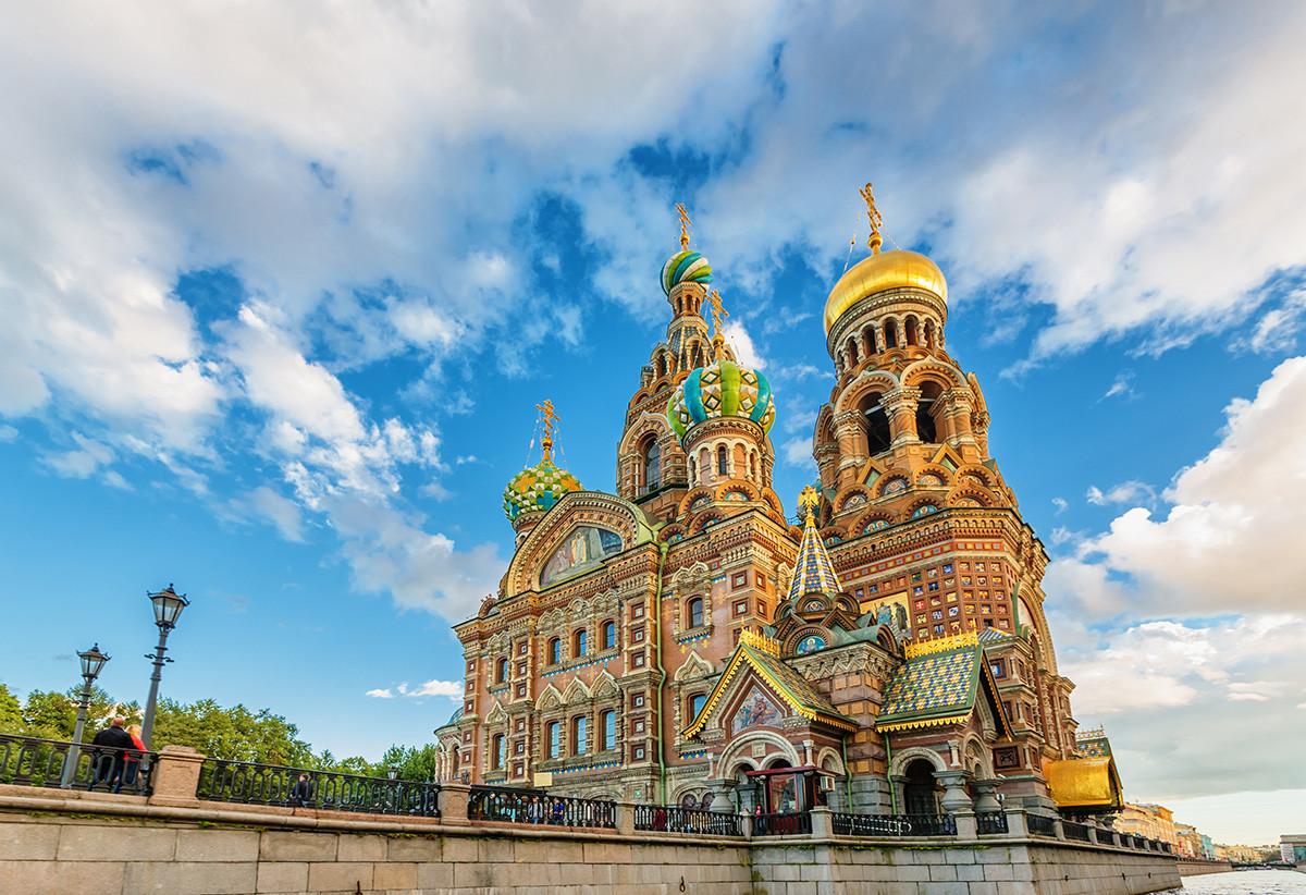 La chiesa del Salvatore sul Sangue versato di San Pietroburgo