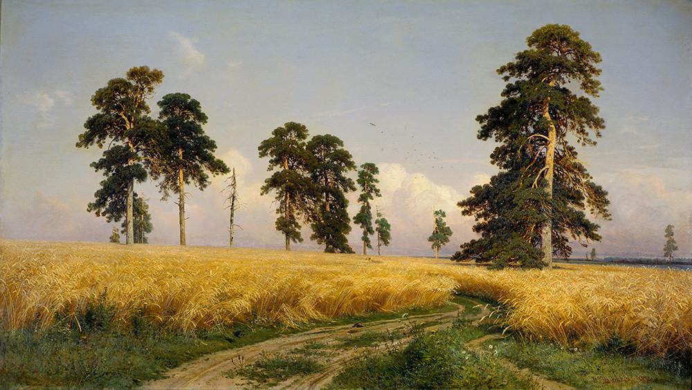 イワン・シーシキン ライ麦畑 1878年