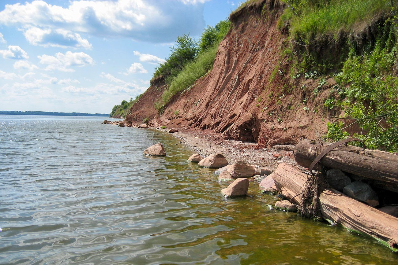 隕石が落ちたニジニーノヴゴロド州のプチェシ地域