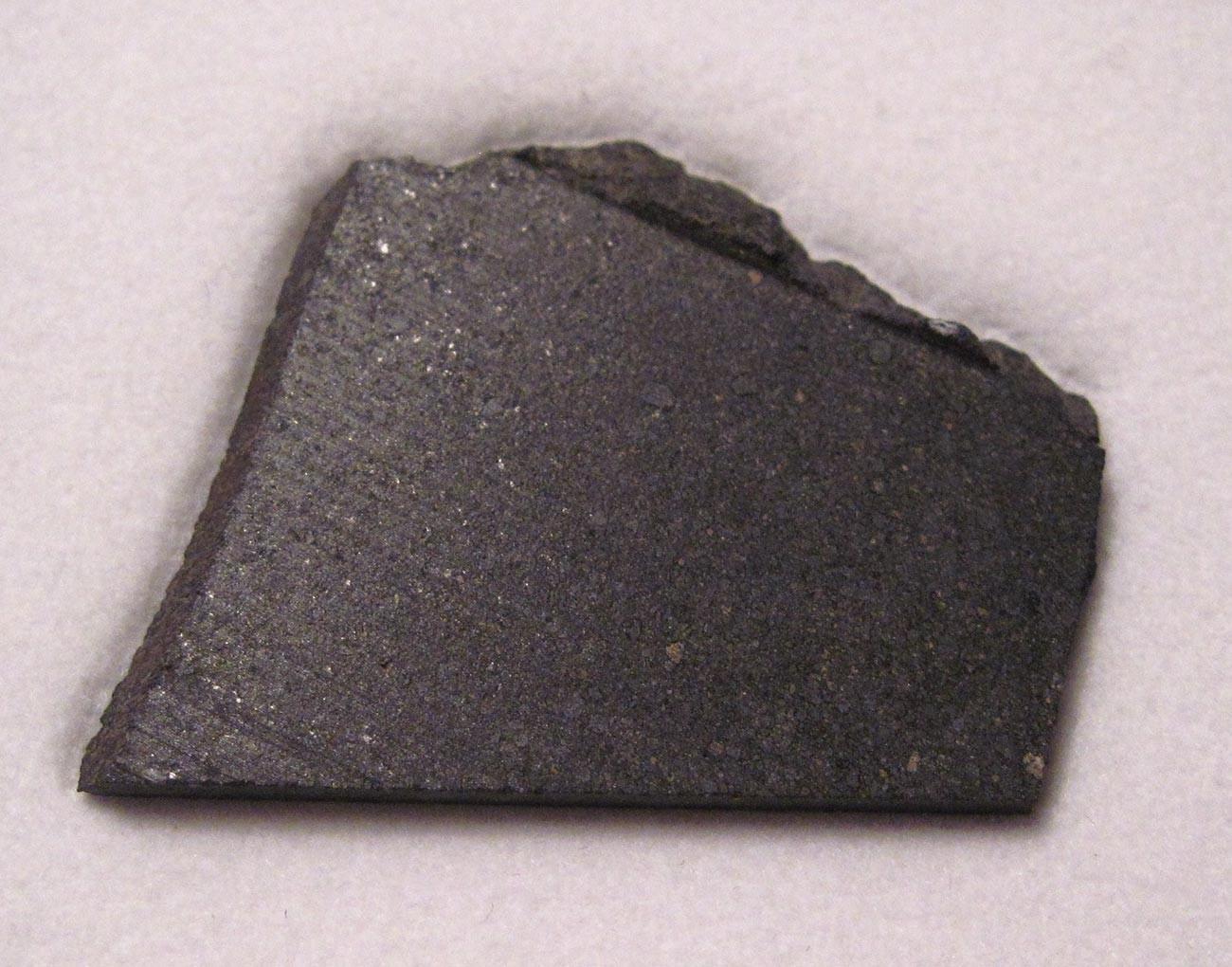 カインサス隕石破片の一つ、4.04グラム
