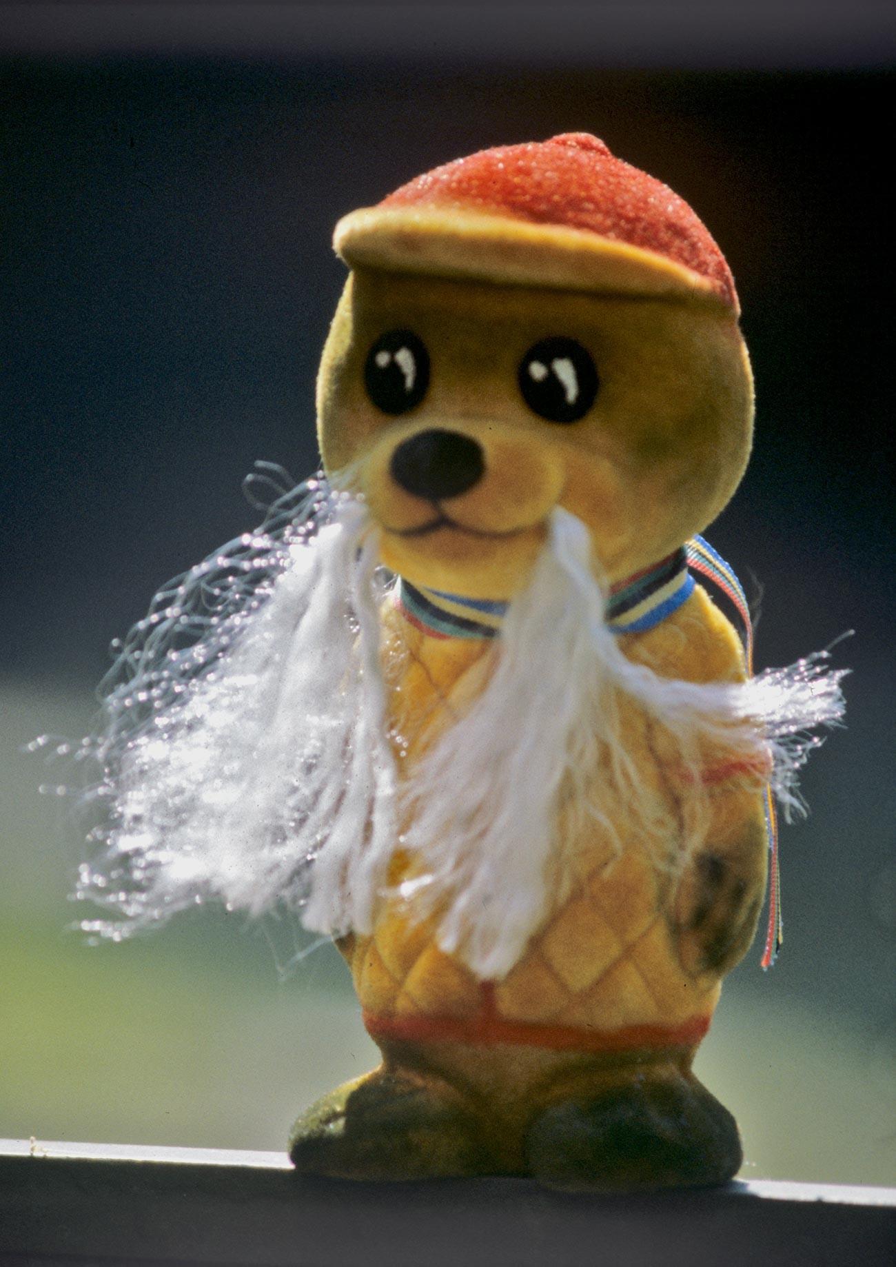 Тюленчето Вигри, символ на Талинската регата на XXII летни Олимпийски игри
