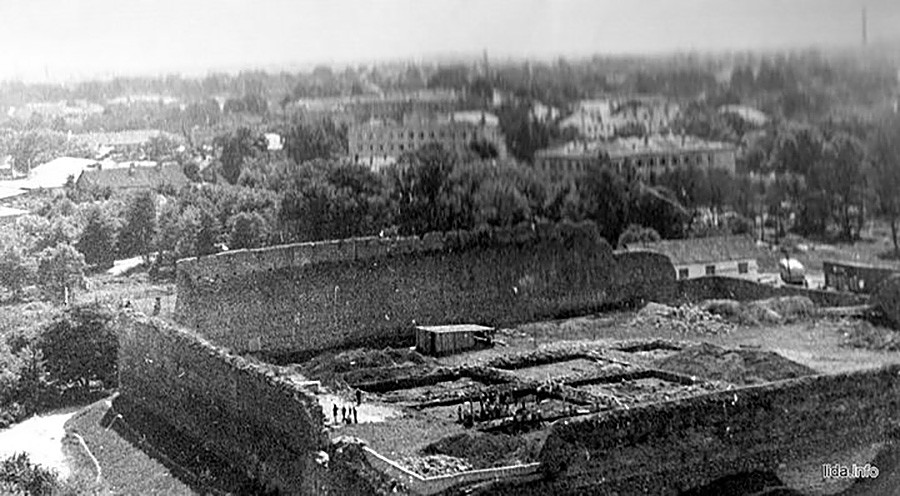 Руины Лидского замка