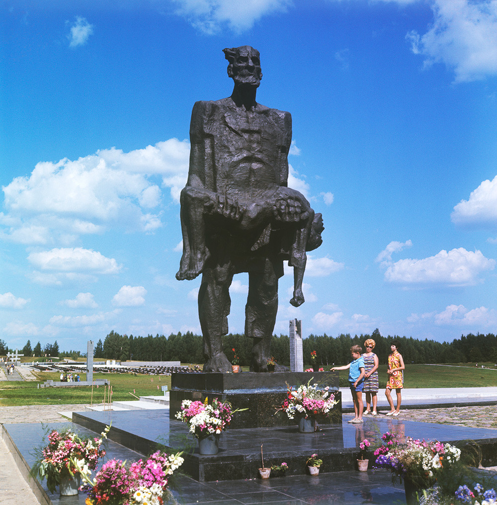 Мемориальный комплекс «Хатынь», 1974