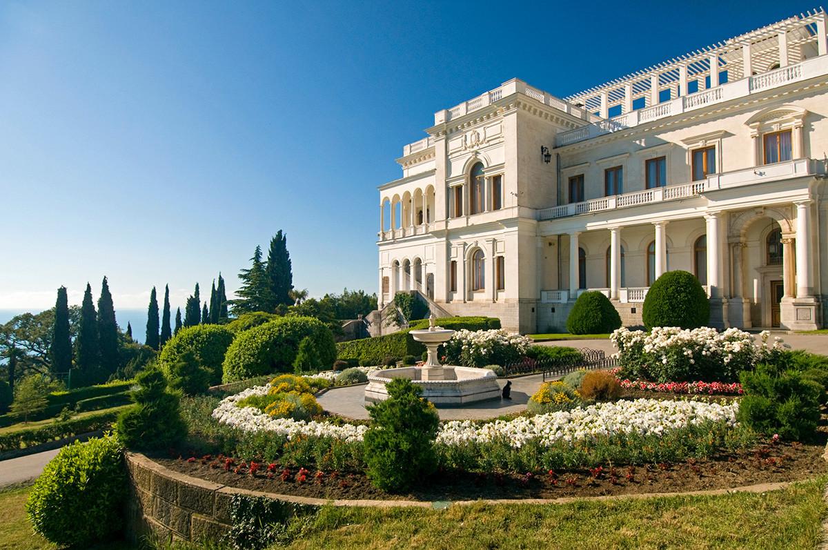 O Palácio Livadia.
