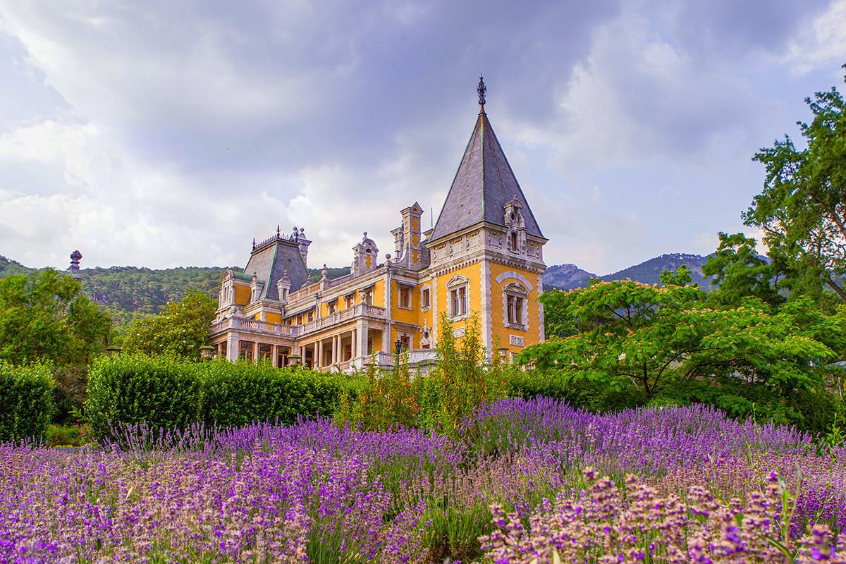 O palácio Massandra.