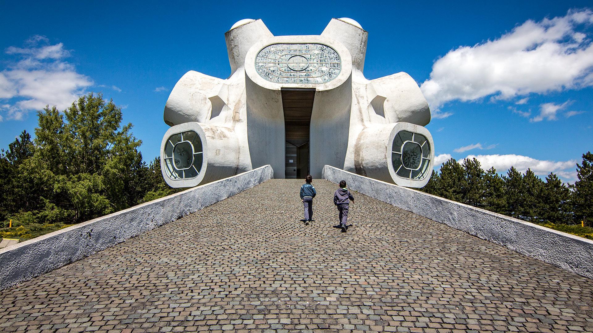 """Krushevo (Macedonia del Nord), Complesso monumentale """"Ilinden"""" (conosciuto anche come """"Makedonium"""")"""
