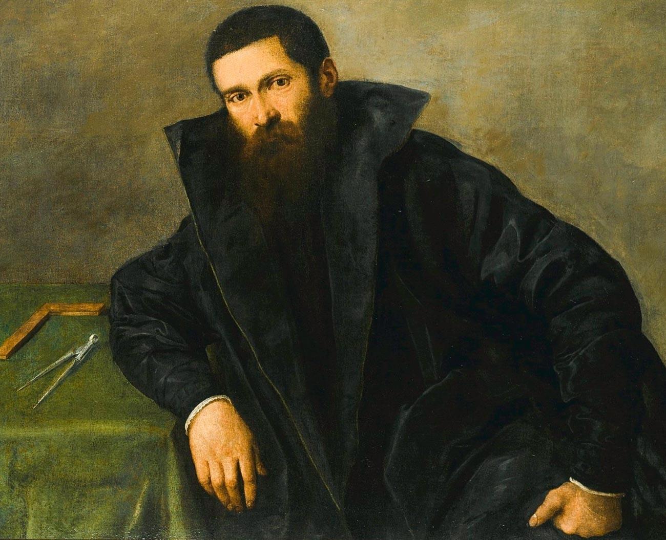 Aristotele Fioravanti , de Lorenzo Lotto