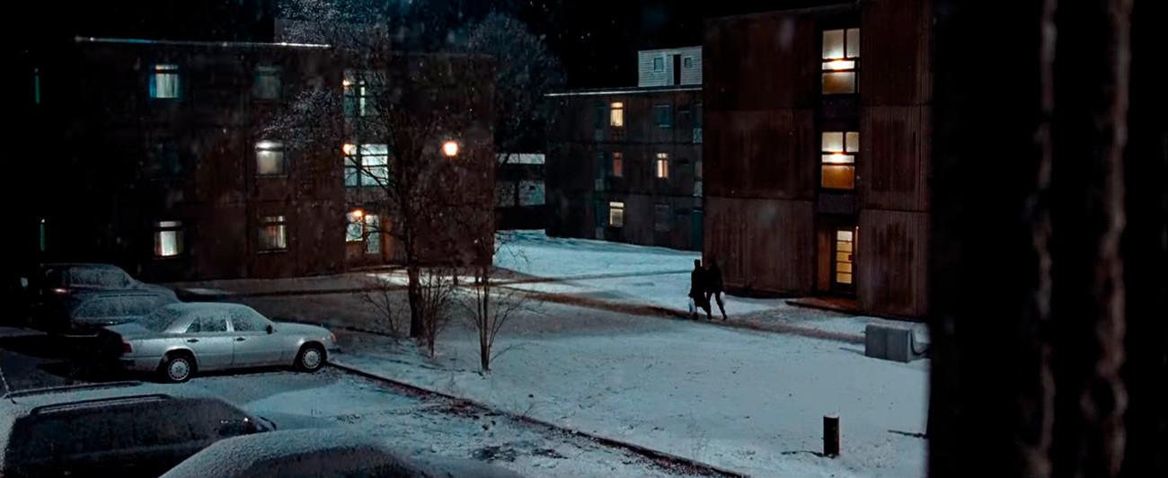 Même couverte par la neige, cette caserne militaire ne ressemble pas à celle de Kazan