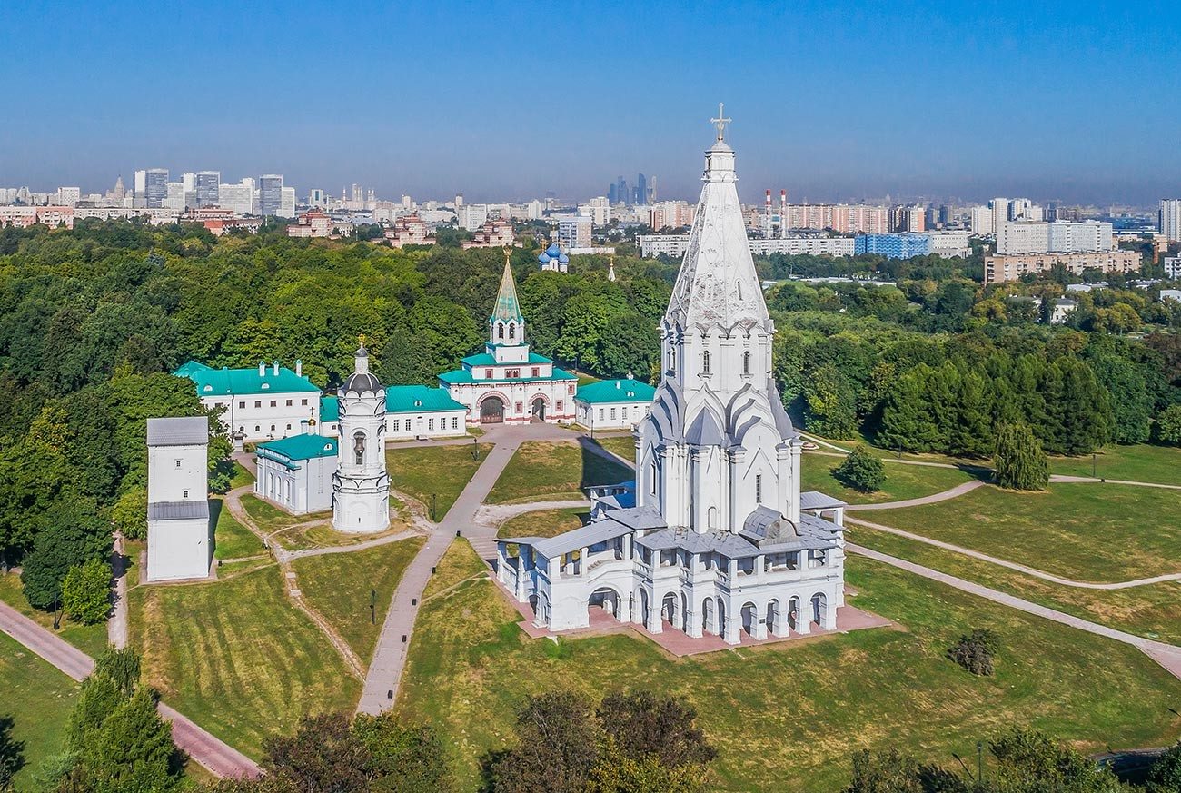 L'église de l'Ascension à Kolomenskoïe
