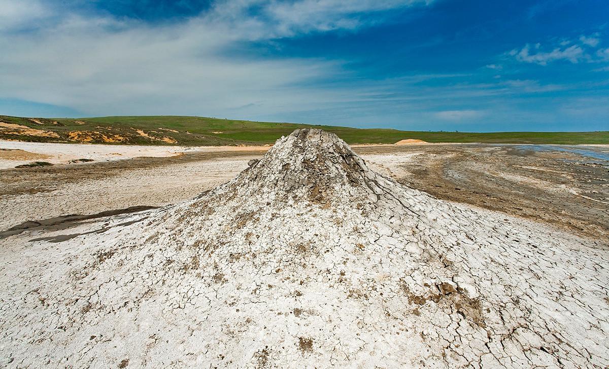 Bulganak mud volcanoes