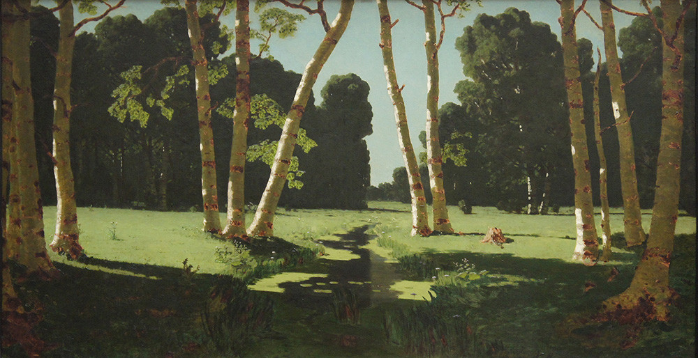 « Petit bois de bouleaux », par Arkhip Kouïndji, 1879