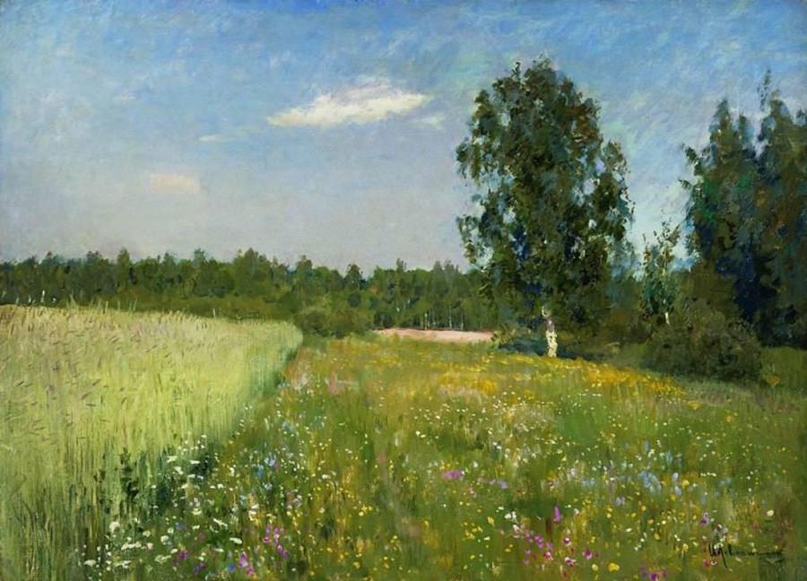 « Jour de juin (Été) », par Isaac Levitan, années 1890