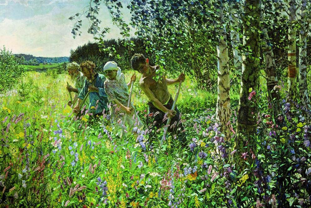 « Fenaison », par Arkadi Plastov, 1945