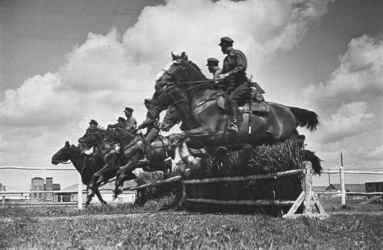 Séance Photo pour le livre La Première armée de cavalerie. Novograd-Volynski