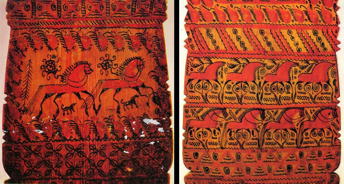 Декорации от Мезен