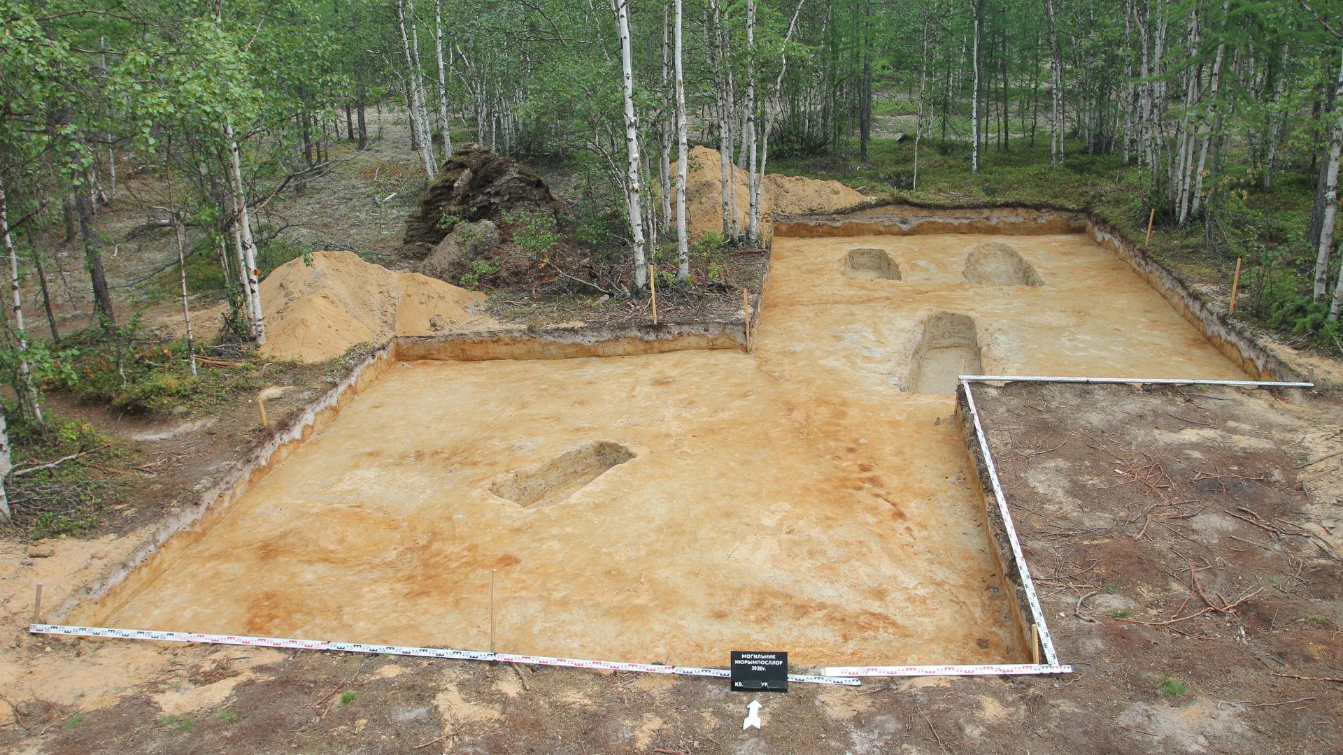 Dernière étape des fouilles archéologiques, en 2020.
