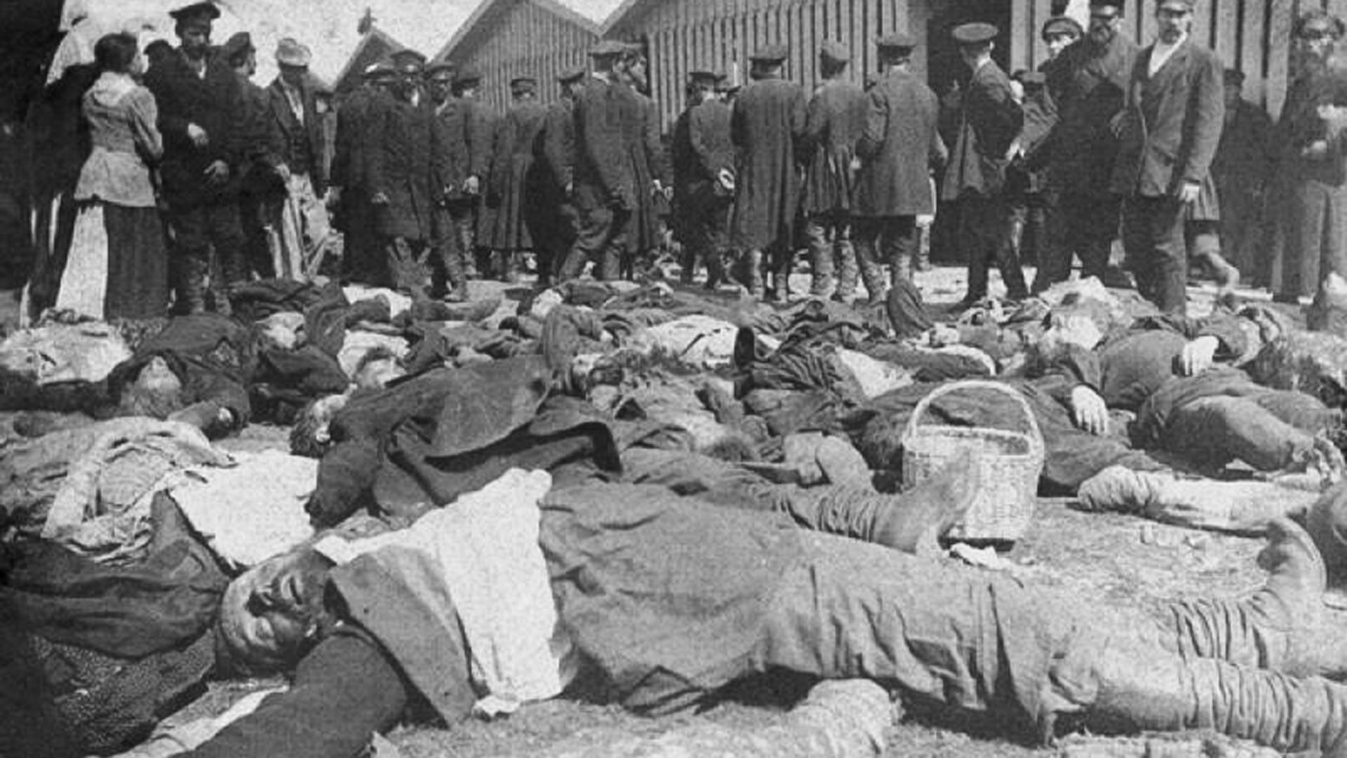 Victims of the Khodynka Tragedy.
