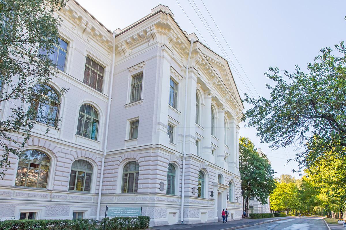 Edifício da Peter the Great St. Petersburg Polytechnic University