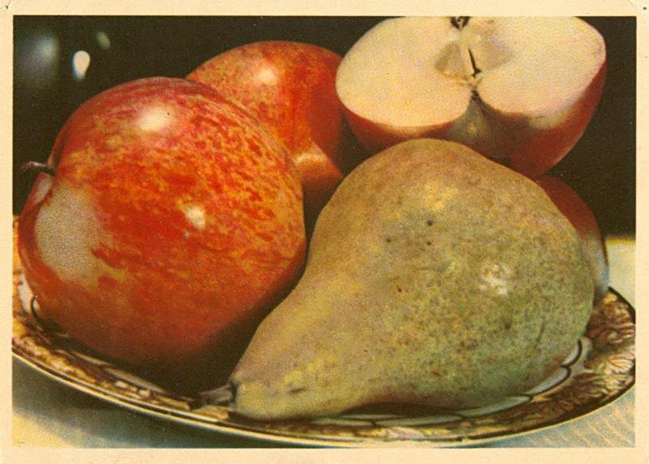 Des fruits, base d'une santé de fer (1949)