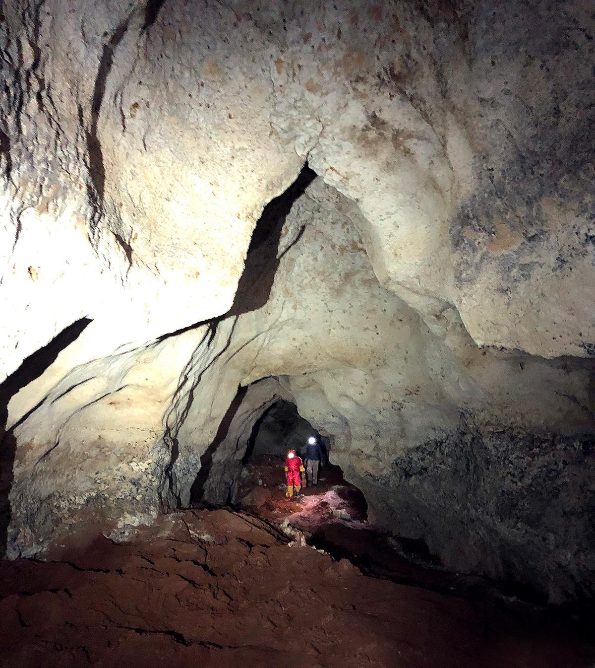 Taurida-Höhle, in der prähistorische Überreste gefunden wurden