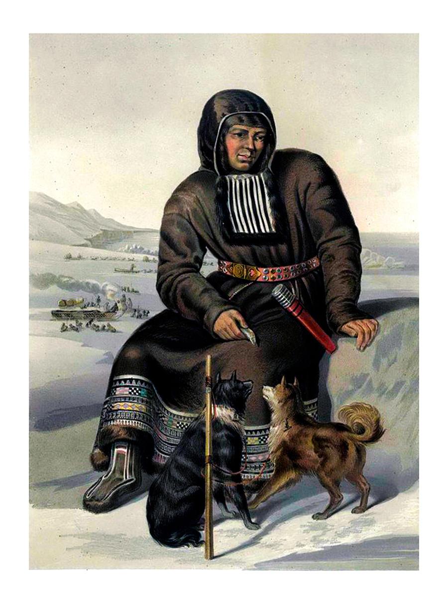 イテリメン人、1862年