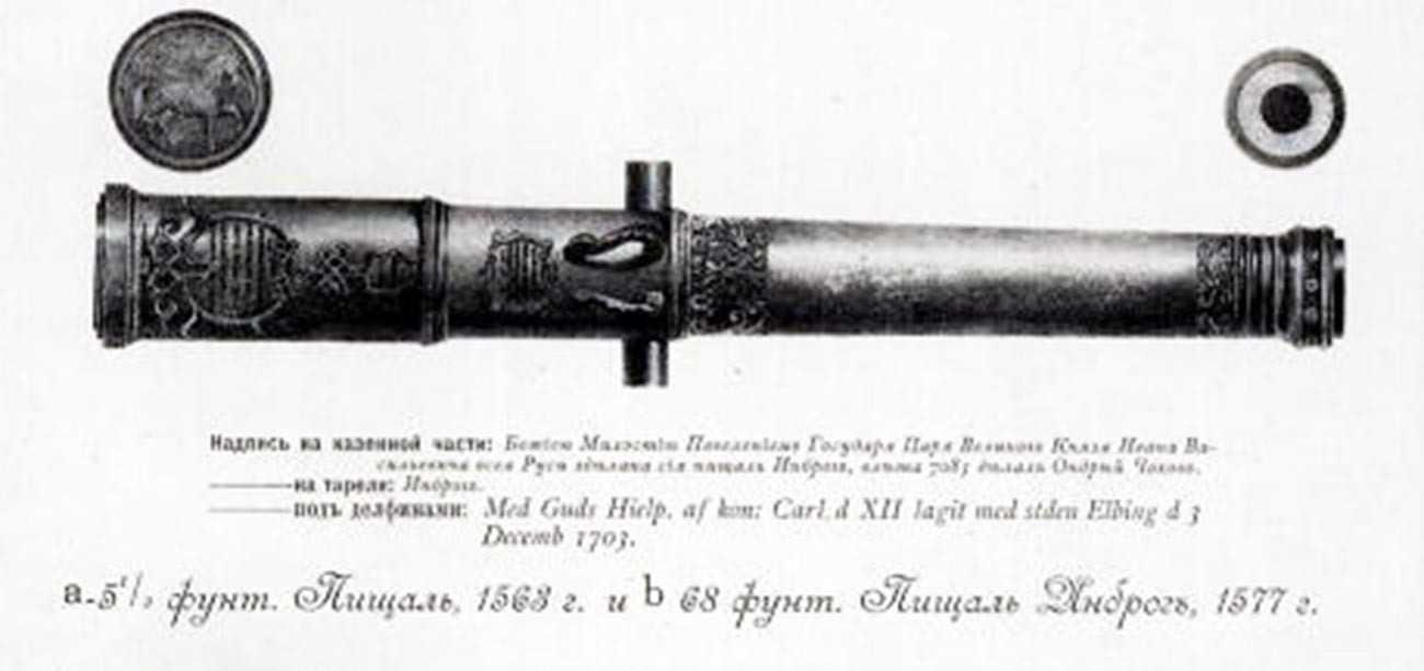 Top Inrog (Samorog) iz leta 1577