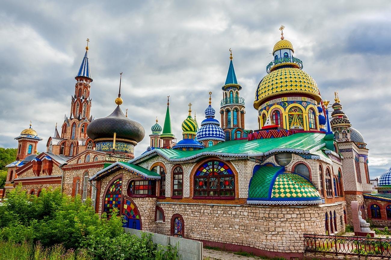 Temple de toutes les religions à Kazan