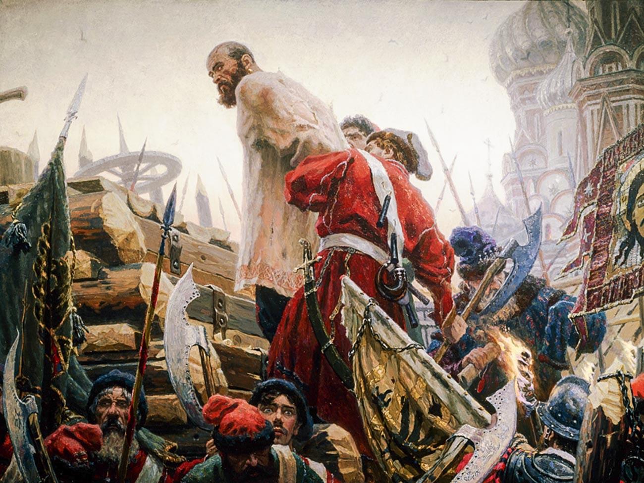 Stepan Razine, par le peintre Sergueï Kirillov