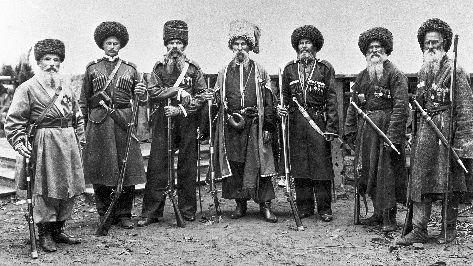 Kubanjski kozaci krajem 19. veka.
