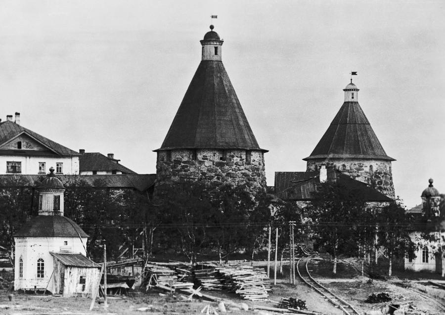 The Solovetsky monastery, 1933