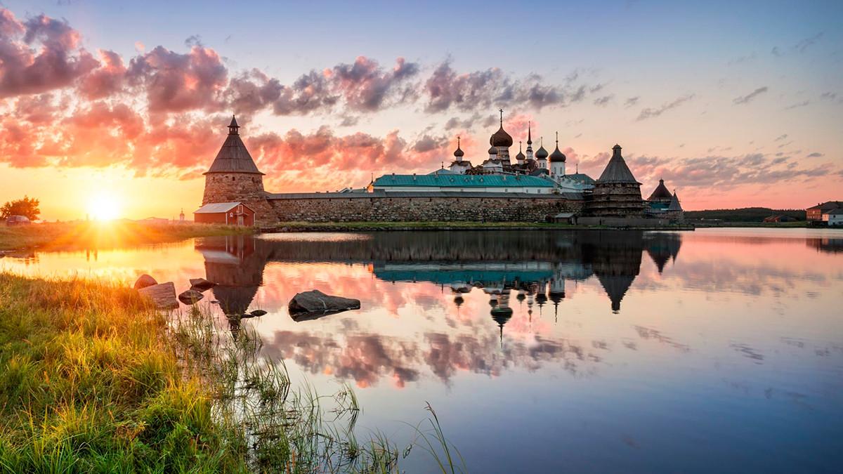 The Solovetsky monastery nowadays