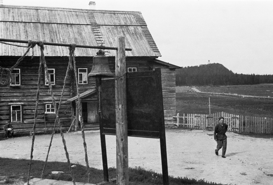 The Solovetsky labor camp in 1933