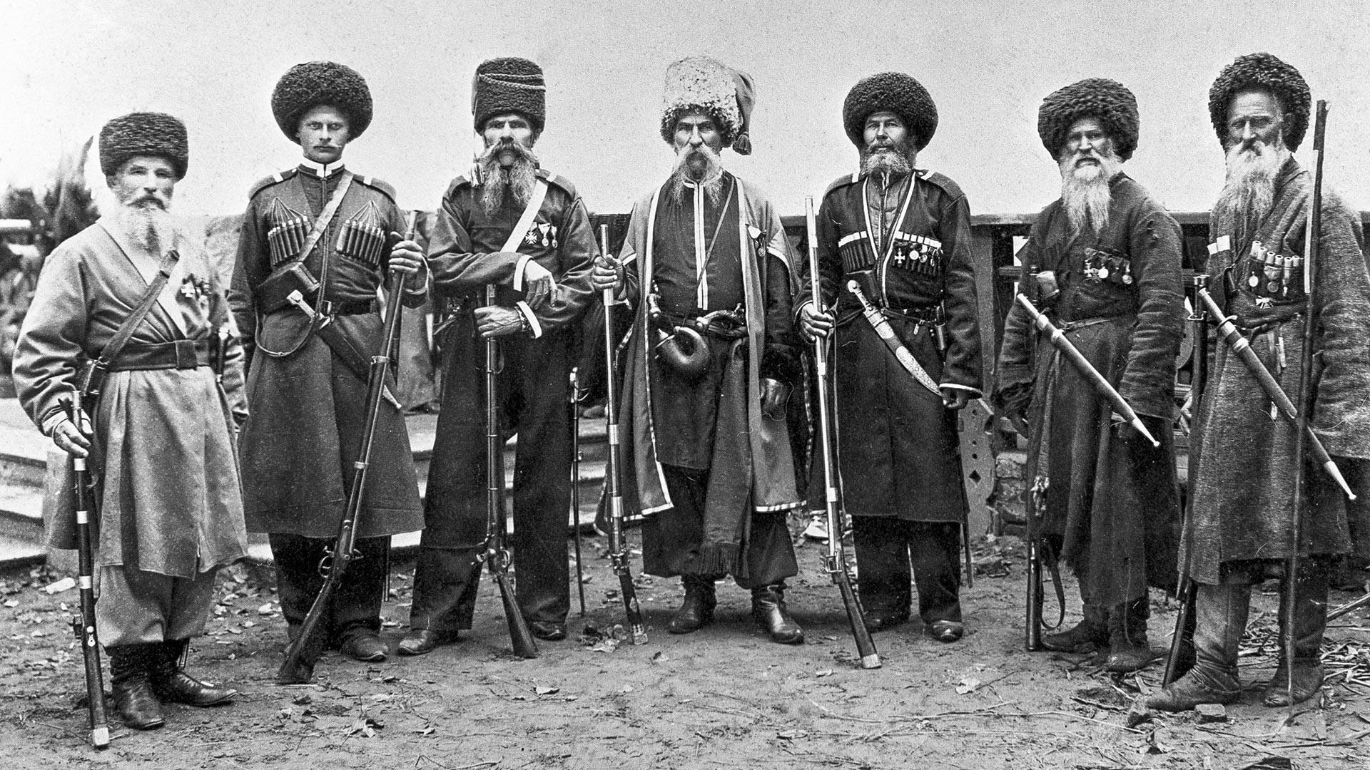 Kubanjski kozaci krajem 19. st.
