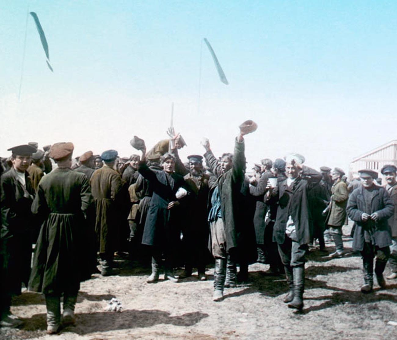 1896年5月30日、ホドゥインカ原での祝賀行事