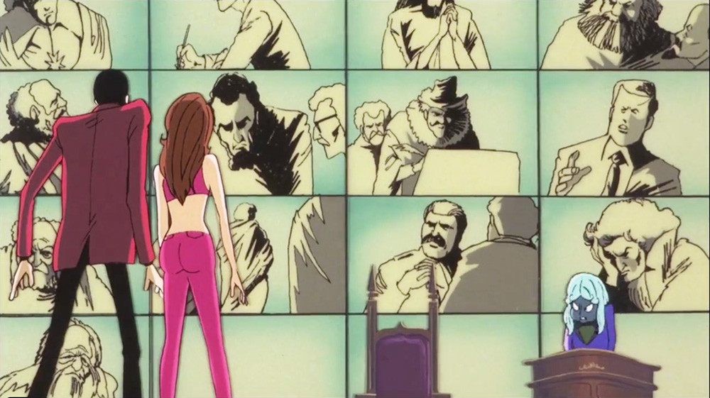 «Люпен III: Секрет Мамо» («Lupin III: The Secret of Mamo») (1978)